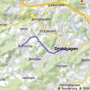 RSW (OE-03) Drolshagen - (GM-33) Bergneustadt-Belmicke
