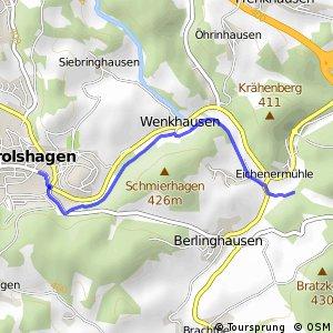 RSW (OE-03) Drolshagen - (OE-13) Drolshagen-Eichenermühle