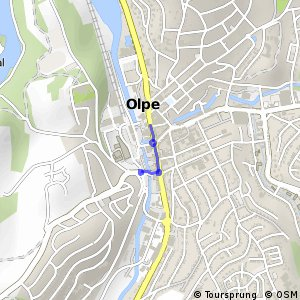 RSW (OE-09) Olpe-Stadtzentrum - (OE-11) Olpe