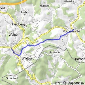 RSW (OE-05) Wenden-Rothemühle - (GM-94) Reichhof-Wildbergerhütte