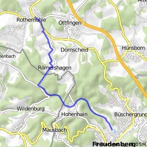 RSW (OE-05) Wenden-Rothemühle - (SI-46) Freudenberg