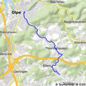 RSW (OE-08) Wenden-Schönau - (OE-10) Olpe