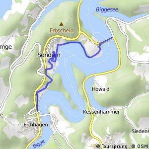 RSW (OE-17) Olpe-Eichhagen - (OE-27) Olpe-Sonderner Kopf