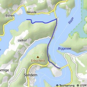 RSW (OE-20) Attendorn-Listermauer - (OE-27) Olpe-Sonderner Kopf