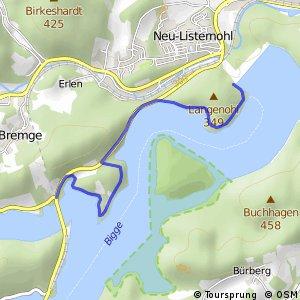 RSW (OE-21) Attendorn-Schnütgenhof - (OE-44) Attendorn-Biggedamm
