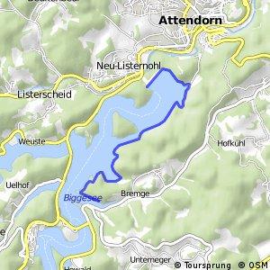 RSW (OE-19) Attendorn-Vorstaubecken Bremge - (OE-44) Attendorn-Biggedamm