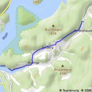RSW (OE-19) Attendorn-Vorstaubecken Bremge - (OE-26) Attendorn-Berlinghausen