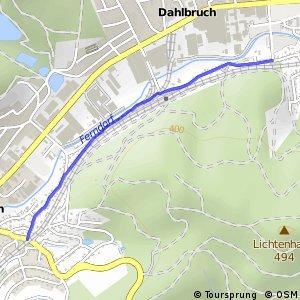 RSW (SI-52) Kreuztal-Kredenbach - (SI-53) Hilchenbach-Dahlbruch