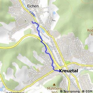 RSW (SI-49) Kreuztal - (SI-50) Kreuztal-Eichen
