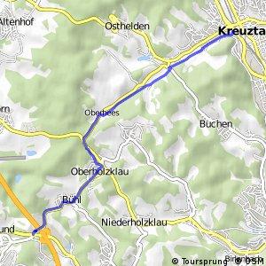 RSW (SI-47) Freudenberg-Lindenberg - (SI-49) Kreuztal