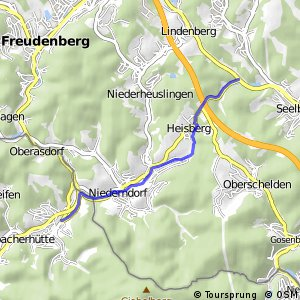 RSW (SI-45) Freudenberg-Alchen - (AK-xx) Niederfischbach