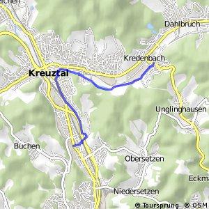 RSW (SI-48) Siegen - (SI-52) Kreuztal-Kredenbach