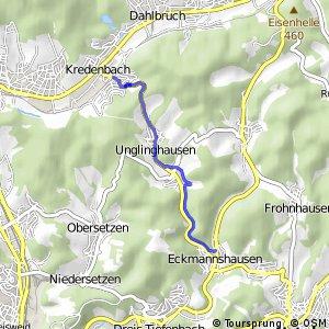RSW (SI-52) Kreuztal-Kredenbach - (SI-54) Netphen-Eckmannshausen