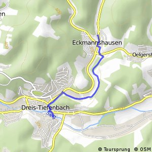 RSW (SI-43) Netphen-Dreis-Tiefenbach - (SI-54) Netphen-Eckmannshausen