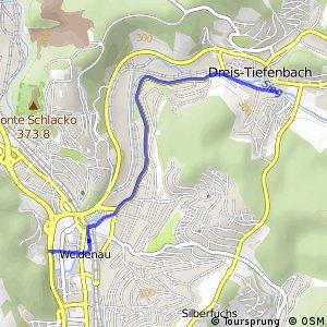 RSW (SI-43) Netphen-Dreis-Tiefenbach - (SI-44) Siegen