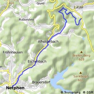 RSW (SI-16) Hilchenbach-Lützel - (SI-42) Netphen