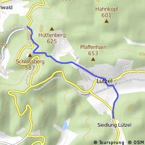 RSW (SI-13) Hilchenbach-Zollposten - (SI-16) Hilchenbach-Lützel