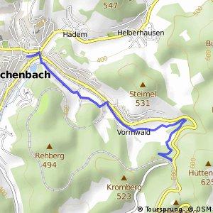 RSW (SI-12) Hilchenbach - (SI-13) Hilchenbach-Zollposten