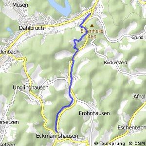 RSW (SI-14) Hilchenbach-Allenbach - (SI-54) Netphen-Eckmannshausen