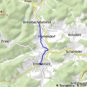 RSW (SI-10) Erndtebrück - (SI-11) Erndtebrück-Birkelbach