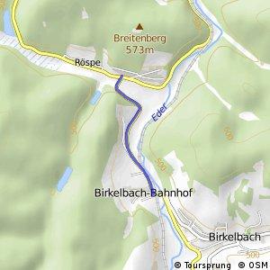 RSW (SI-01) Erndtebrück-Röspe - (SI-11) Erndtebrück-Birkelbach