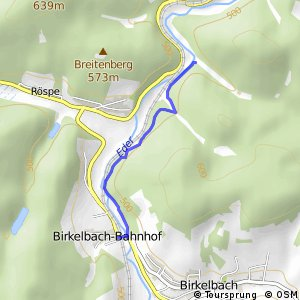 RSW (SI-02) Erndtebrück-Röspe - (SI-11) Erndtebrück-Birkelbach
