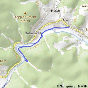 RSW (SI-02) Erndtebrück-Röspe - (SI-03) Bad Berleburg–Aue