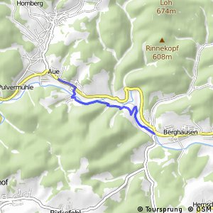 RSW (SI-03) Bad Berleburg–Aue - (SI-04) Bad Berleburg-Berghausen