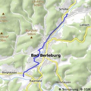 RSW (SI-05) Bad Berleburg-Raumland - (SI-06) Bad Berleburg-Wemlighausen