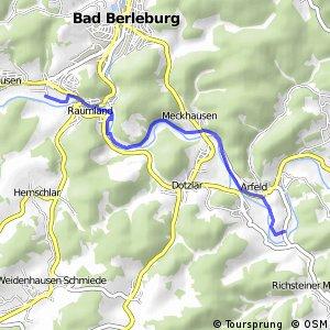 RSW (SI-05) Bad Berleburg-Raumland - (SI-09) Bad Berleburg-Arfeld