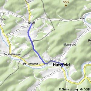 RSW (SI-08) Bad Berleburg-Elshoff - (KB-xx) Hatzfeld