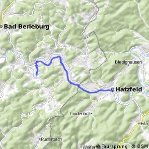 RSW (SI-09) Bad Berleburg-Arfeld - (KB-xx) Hatzfeld