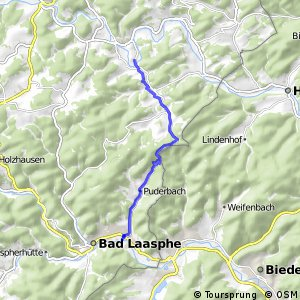 RSW (SI-09) Bad Berleburg-Arfeld - (SI-23) Bad Laasphe