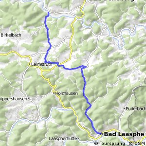 RSW (SI-04) Bad Berleburg-Berghausen - (SI-21) Bad Laasphe