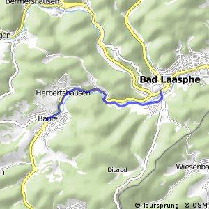 RSW (SI-20) Bad Laasphe-Banfe - (SI-22) Bad Laasphe