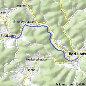 RSW (SI-19) Bad Laasphe-Feudingen - (SI-22) Bad Laasphe