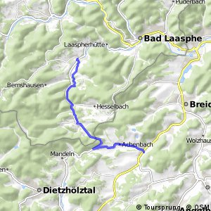 RSW (SI-20) Bad Laasphe-Banfe - (MR-xx) Breidenbach-Oberdieten