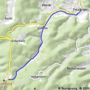 RSW (SI-19) Bad Laasphe-Feudingen - (SI-25) Netphen-Nenkersdorf