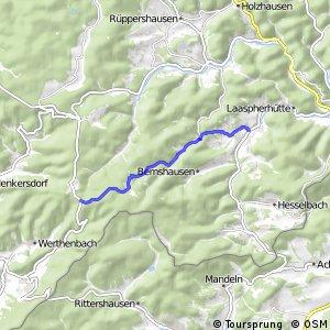 RSW (SI-20) Bad Laasphe-Banfe - (SI-24) Netphen-Nenkersdorf
