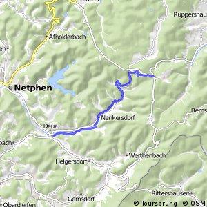RSW (SI-18) Netphen-Nenkersdorf - (SI-39) Netphen-Deuz