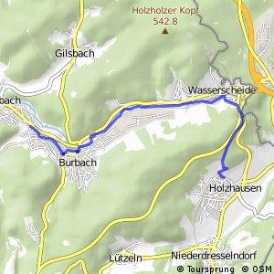RSW (SI-33) Burbach - (SI-36) Burbach-Holzhausen