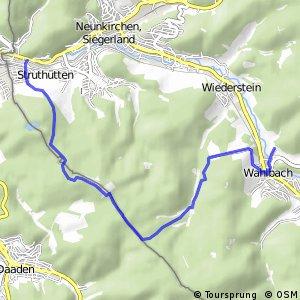 RSW (SI-32) Burbach-Wahlbach - (SI-56) Neunkirchen