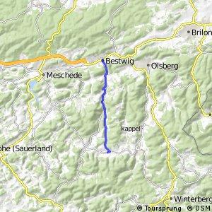 RSW (HSK-20) Bestwig - (HSK-53) Schmallenberg-Westfeld