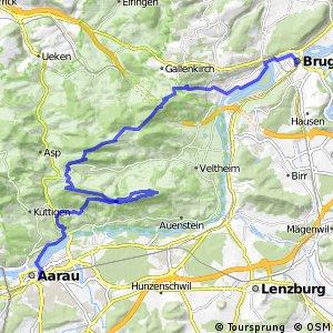 Argovia Bike Etappe 2 (Brugg - Aarau)
