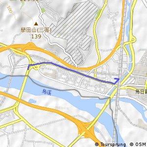 新烏日站支線(西向)