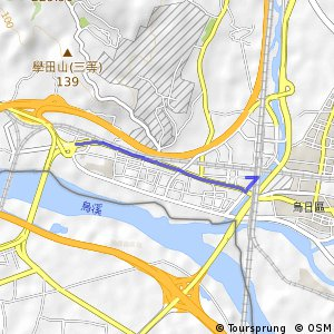新烏日站支線(東向)