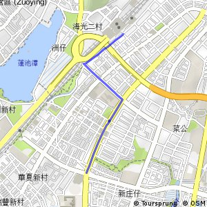 高鐵左營站支線(順時針)