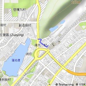 新左營站支線(東向)