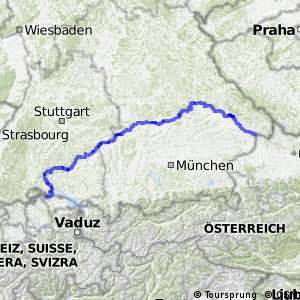 Radroute D6 Donauroute