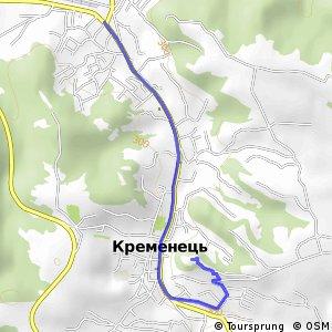 Вишиваний Шлях - Кременецький замок